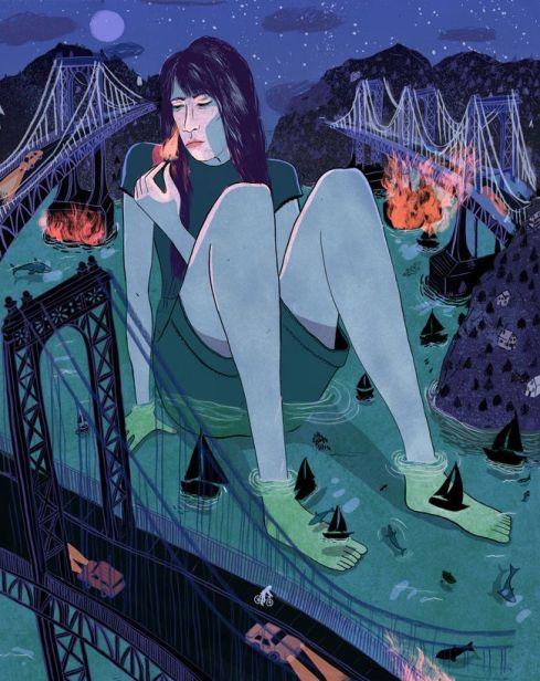 """Burning Bridges"" by Lily Padula"