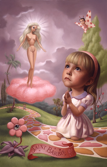 Saint Barbie by Mark Ryden